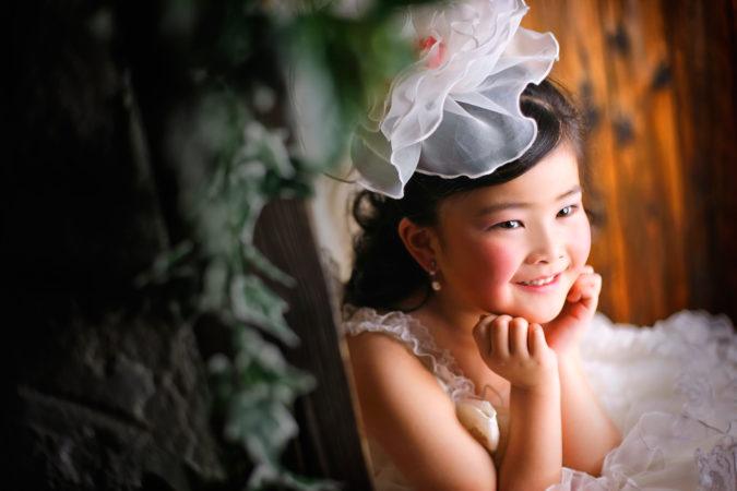群馬県 七五三 7歳 ドレス