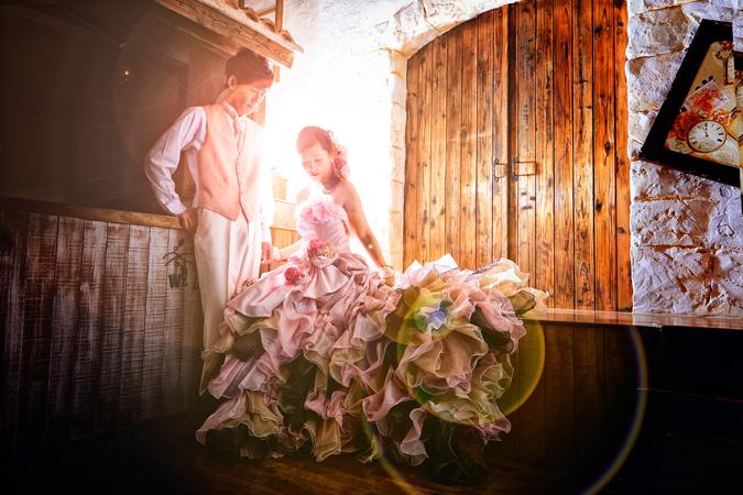 フォトウェディング ドレス