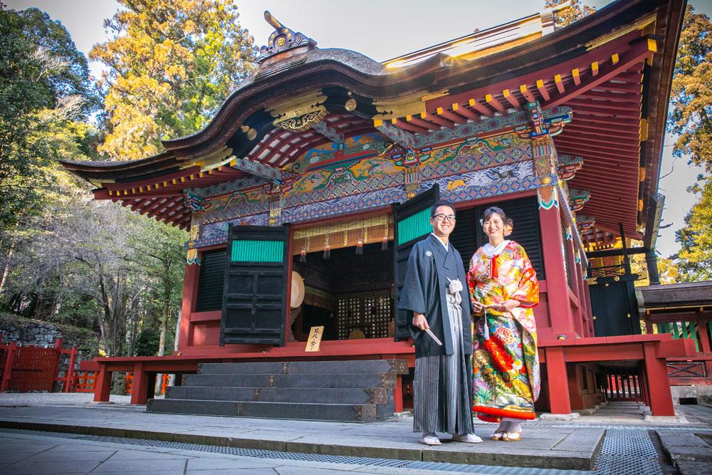 フォトウェディング 群馬 貫前神社