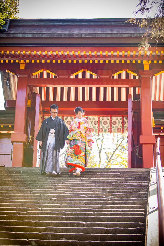 フォトウェディング 群馬県 貫前神社