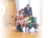 七五三|群馬県|家族写真