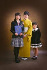 家族写真 卒業
